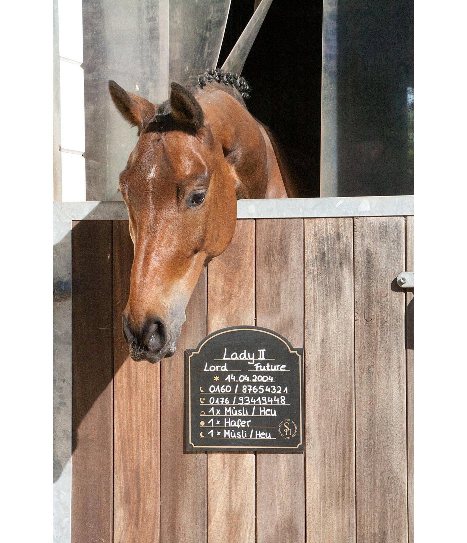 stalltafel exclusive boxenschilder warntafeln kr mer pferdesport sterreich. Black Bedroom Furniture Sets. Home Design Ideas