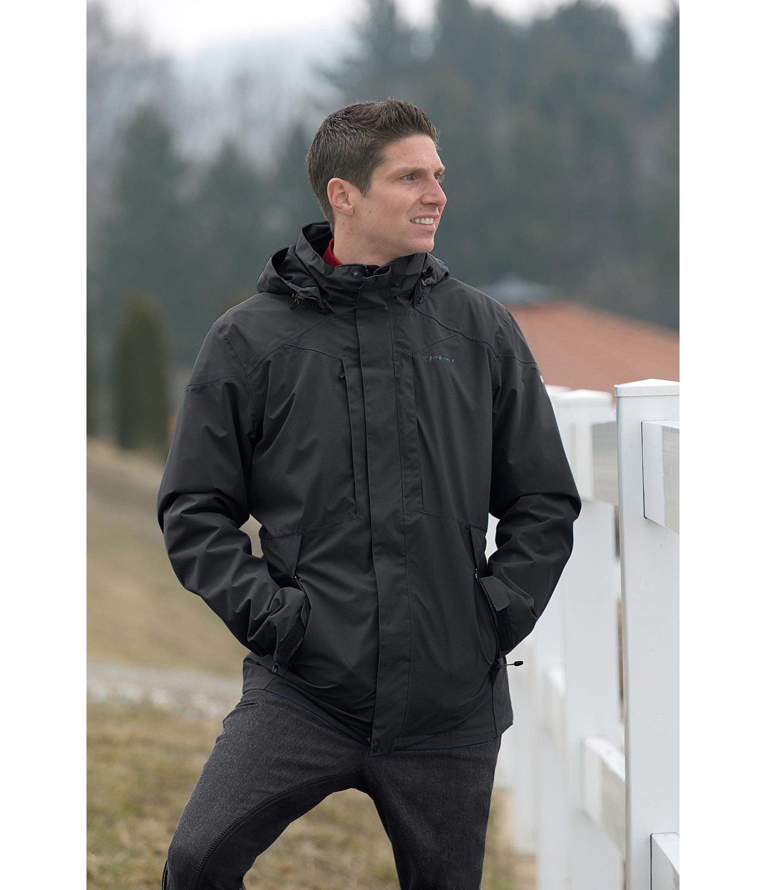 herren 3 in 1 jacke lance herren regenbekleidung. Black Bedroom Furniture Sets. Home Design Ideas