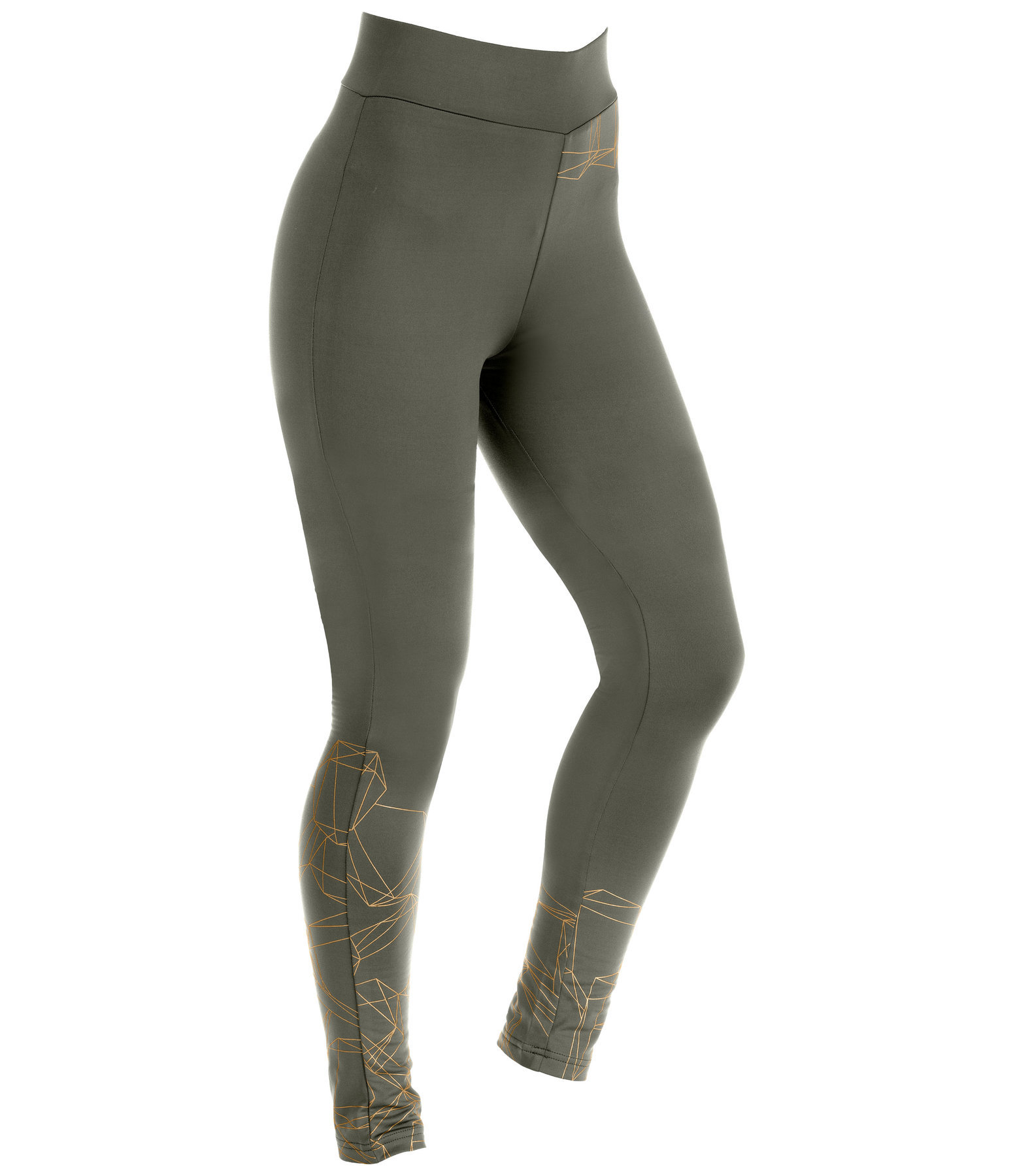 Thermo-Voltigierleggings Diamonds