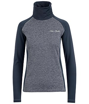 Felix Bühler Zip-Performance-Stretch-Langarmshirt Emilia - 652471-XS-NV